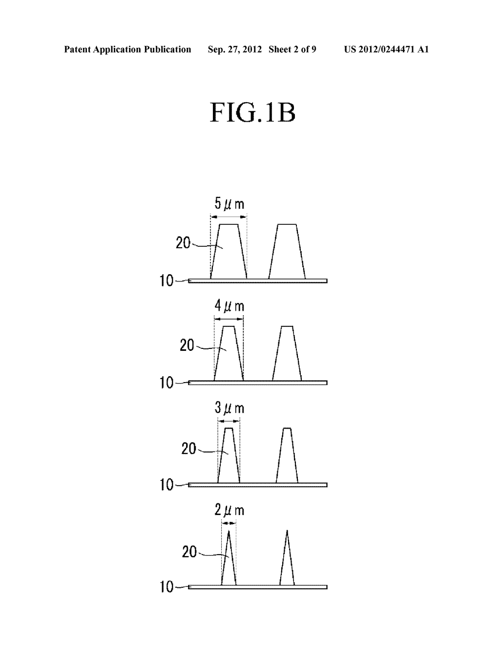 PHOTORESIST RESIN COMPOSITION AND METHOD OF FORMING PATTERNS BY USING THE     SAME - diagram, schematic, and image 03