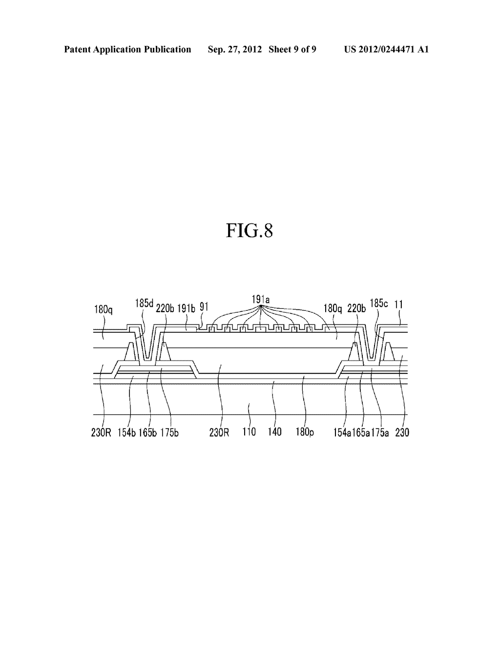 PHOTORESIST RESIN COMPOSITION AND METHOD OF FORMING PATTERNS BY USING THE     SAME - diagram, schematic, and image 10