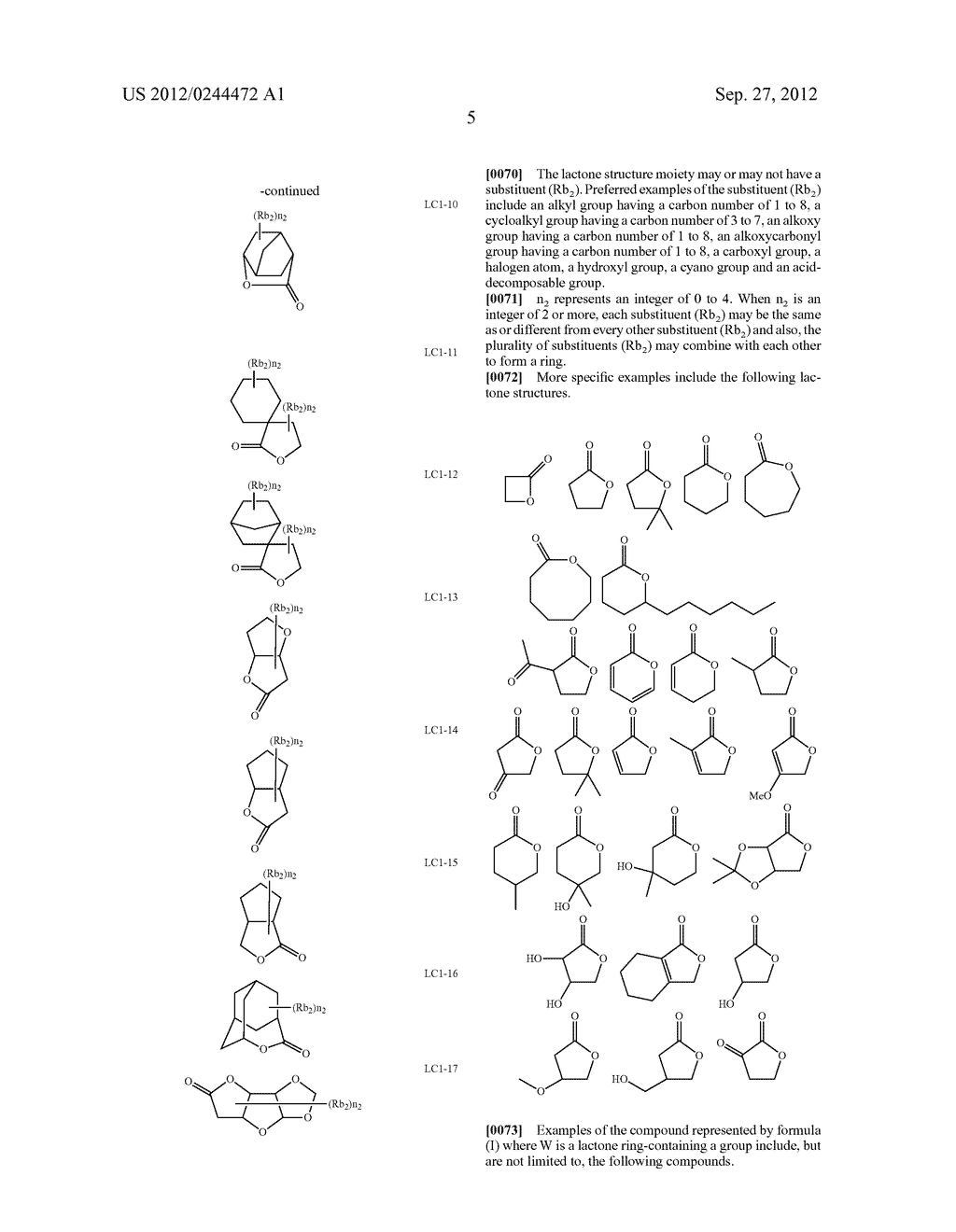 ACTINIC RAY-SENSITIVE OR RADIATION-SENSITIVE RESIN COMPOSITION, FILM     FORMED USING THE COMPOSITION AND PATTERN FORMING METHOD USING THE SAME - diagram, schematic, and image 06