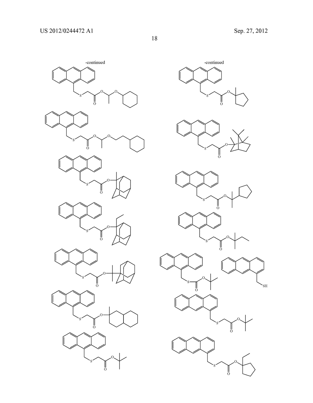 ACTINIC RAY-SENSITIVE OR RADIATION-SENSITIVE RESIN COMPOSITION, FILM     FORMED USING THE COMPOSITION AND PATTERN FORMING METHOD USING THE SAME - diagram, schematic, and image 19