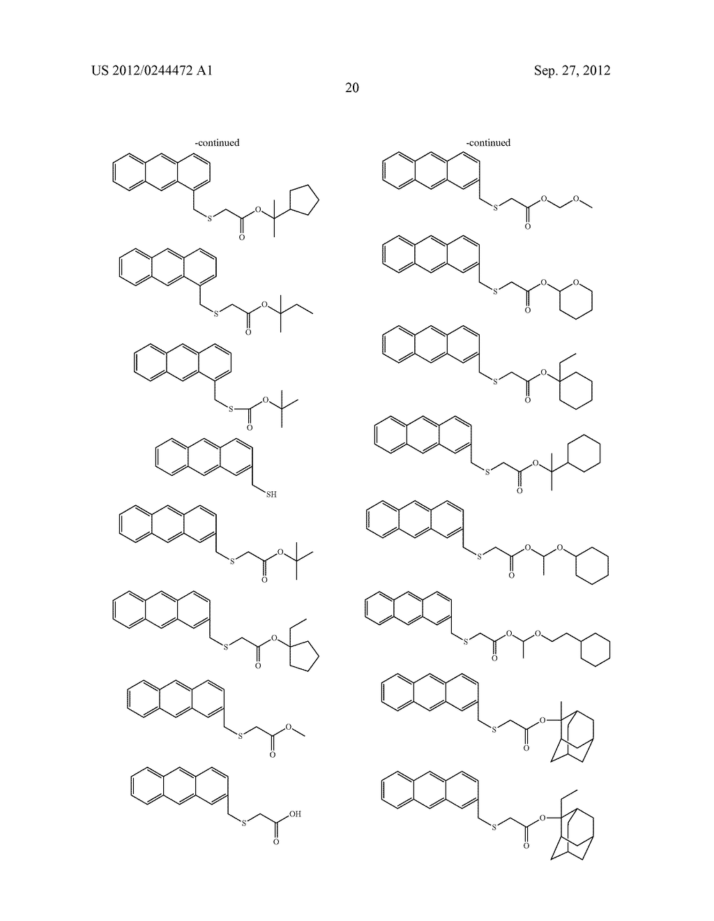 ACTINIC RAY-SENSITIVE OR RADIATION-SENSITIVE RESIN COMPOSITION, FILM     FORMED USING THE COMPOSITION AND PATTERN FORMING METHOD USING THE SAME - diagram, schematic, and image 21