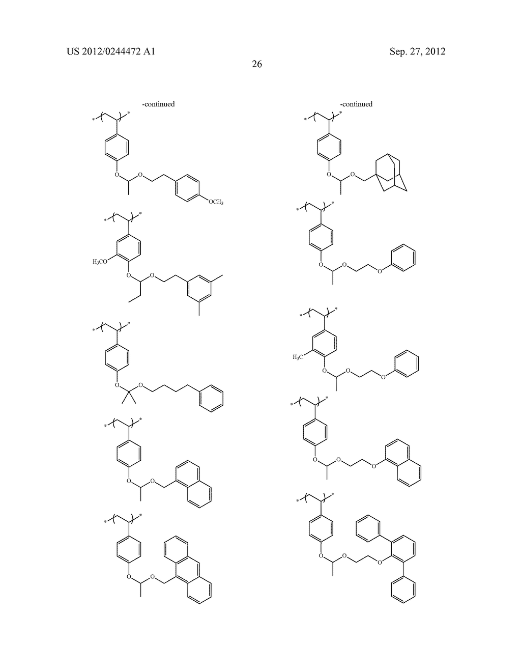 ACTINIC RAY-SENSITIVE OR RADIATION-SENSITIVE RESIN COMPOSITION, FILM     FORMED USING THE COMPOSITION AND PATTERN FORMING METHOD USING THE SAME - diagram, schematic, and image 27