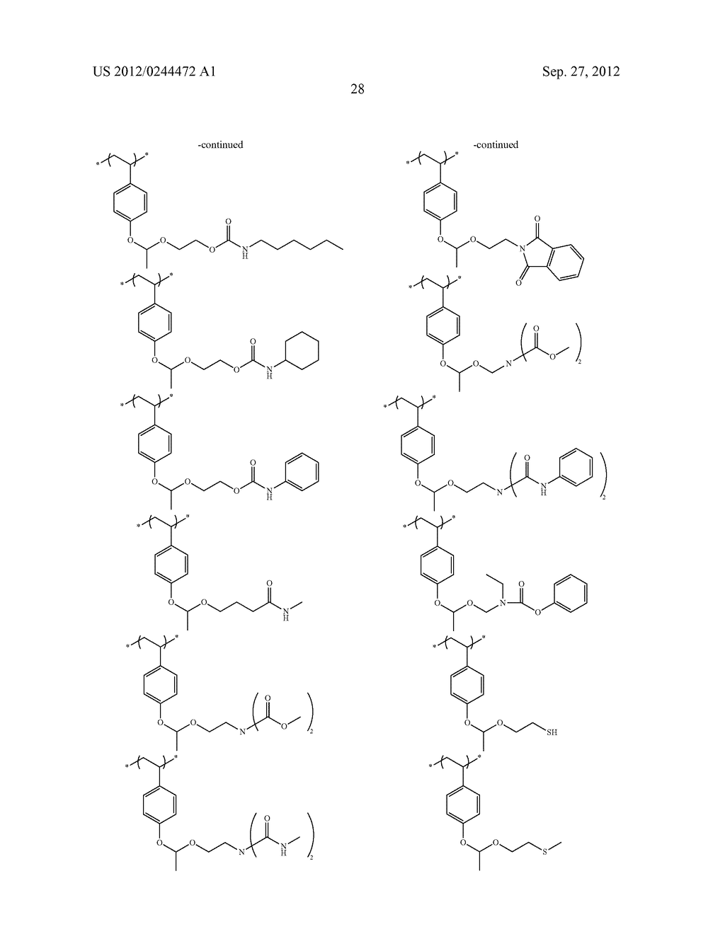 ACTINIC RAY-SENSITIVE OR RADIATION-SENSITIVE RESIN COMPOSITION, FILM     FORMED USING THE COMPOSITION AND PATTERN FORMING METHOD USING THE SAME - diagram, schematic, and image 29