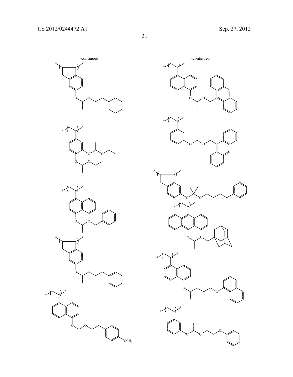 ACTINIC RAY-SENSITIVE OR RADIATION-SENSITIVE RESIN COMPOSITION, FILM     FORMED USING THE COMPOSITION AND PATTERN FORMING METHOD USING THE SAME - diagram, schematic, and image 32