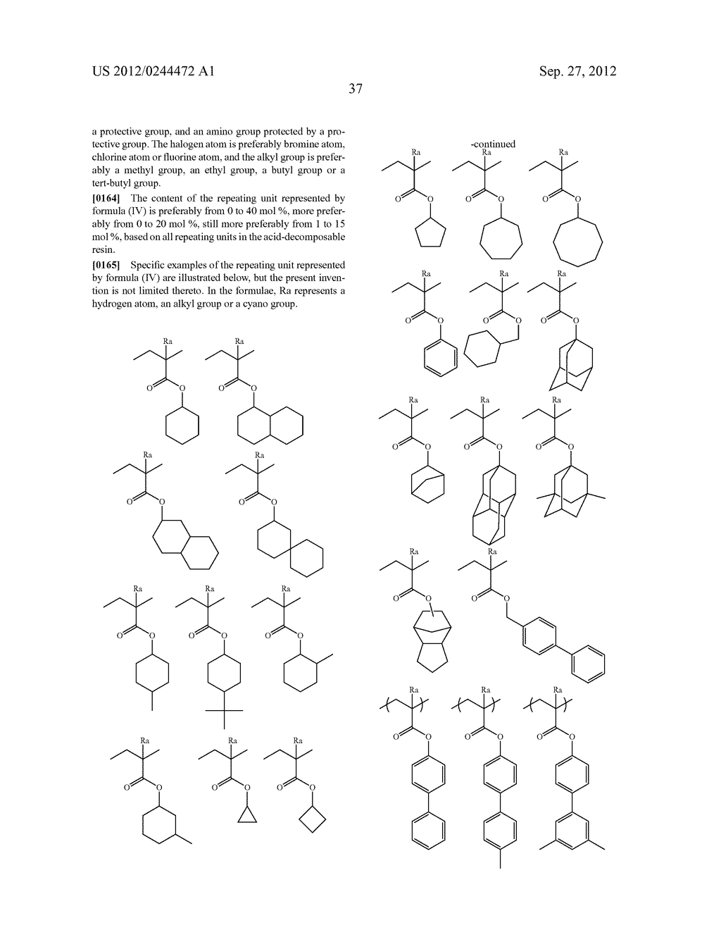 ACTINIC RAY-SENSITIVE OR RADIATION-SENSITIVE RESIN COMPOSITION, FILM     FORMED USING THE COMPOSITION AND PATTERN FORMING METHOD USING THE SAME - diagram, schematic, and image 38