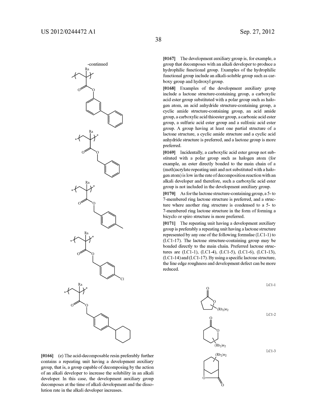ACTINIC RAY-SENSITIVE OR RADIATION-SENSITIVE RESIN COMPOSITION, FILM     FORMED USING THE COMPOSITION AND PATTERN FORMING METHOD USING THE SAME - diagram, schematic, and image 39