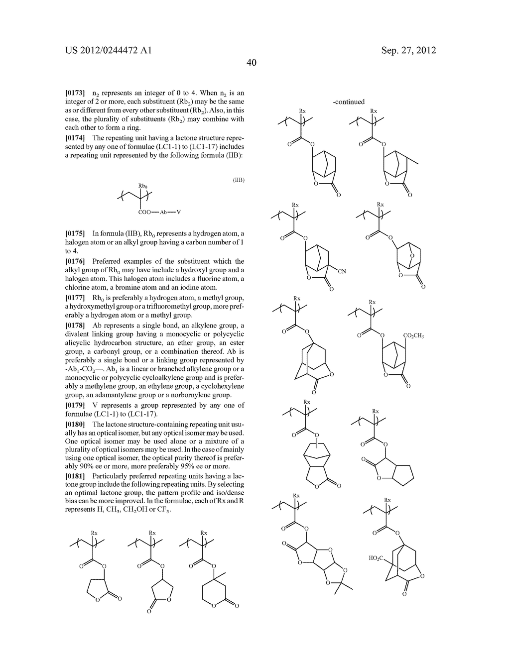 ACTINIC RAY-SENSITIVE OR RADIATION-SENSITIVE RESIN COMPOSITION, FILM     FORMED USING THE COMPOSITION AND PATTERN FORMING METHOD USING THE SAME - diagram, schematic, and image 41