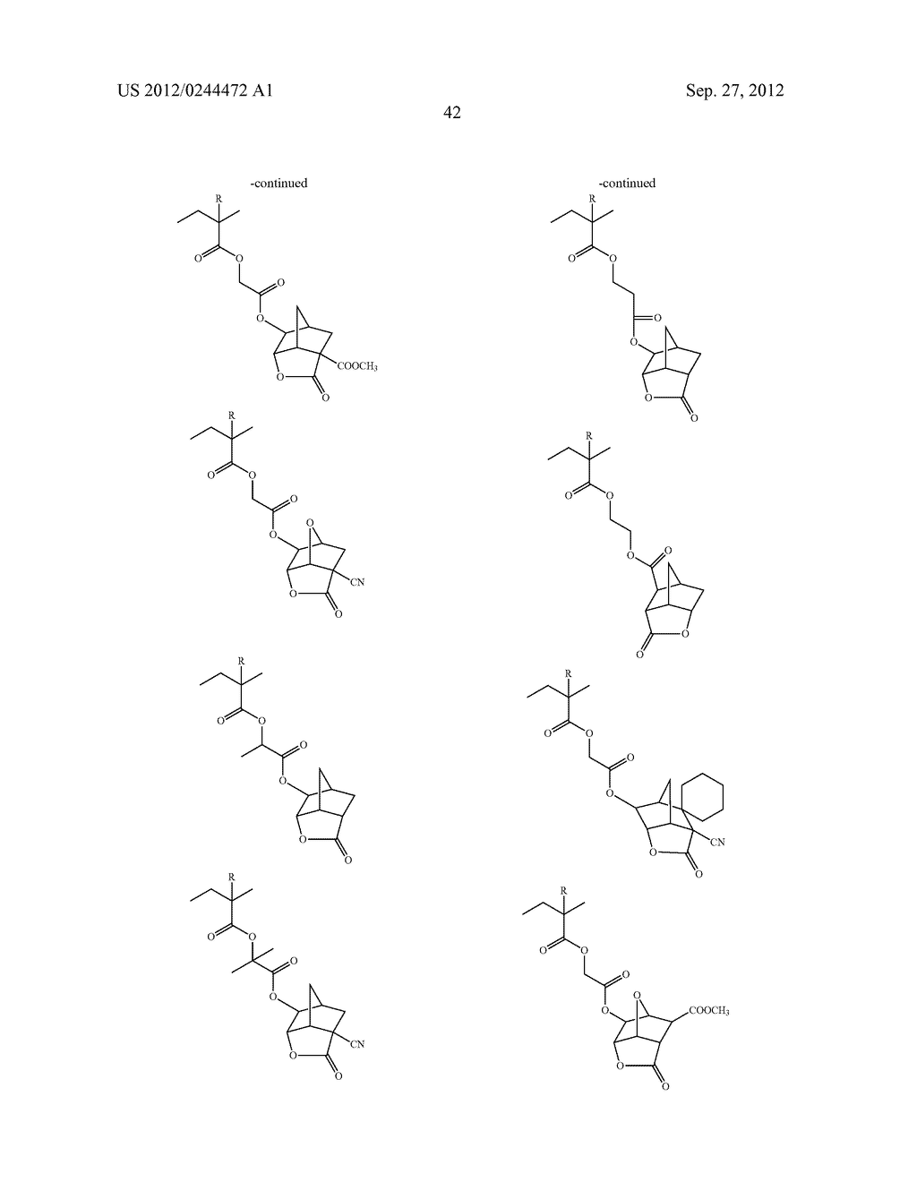 ACTINIC RAY-SENSITIVE OR RADIATION-SENSITIVE RESIN COMPOSITION, FILM     FORMED USING THE COMPOSITION AND PATTERN FORMING METHOD USING THE SAME - diagram, schematic, and image 43