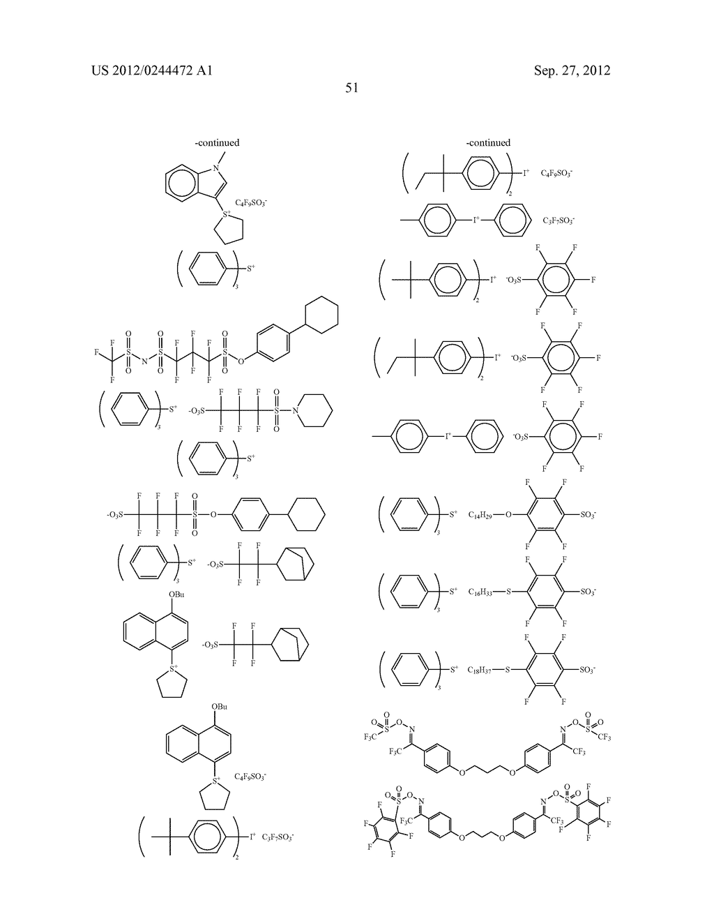ACTINIC RAY-SENSITIVE OR RADIATION-SENSITIVE RESIN COMPOSITION, FILM     FORMED USING THE COMPOSITION AND PATTERN FORMING METHOD USING THE SAME - diagram, schematic, and image 52