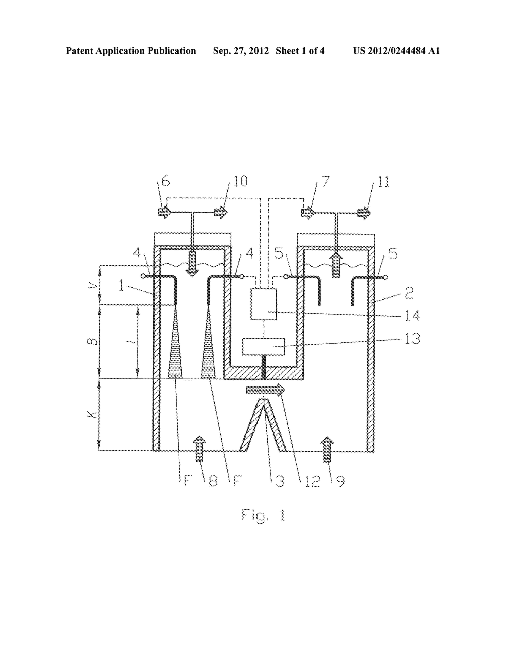 PARALLEL FLOW REGENERATIVE LIME KILN AND METHOD FOR THE OPERATION THEREOF - diagram, schematic, and image 02