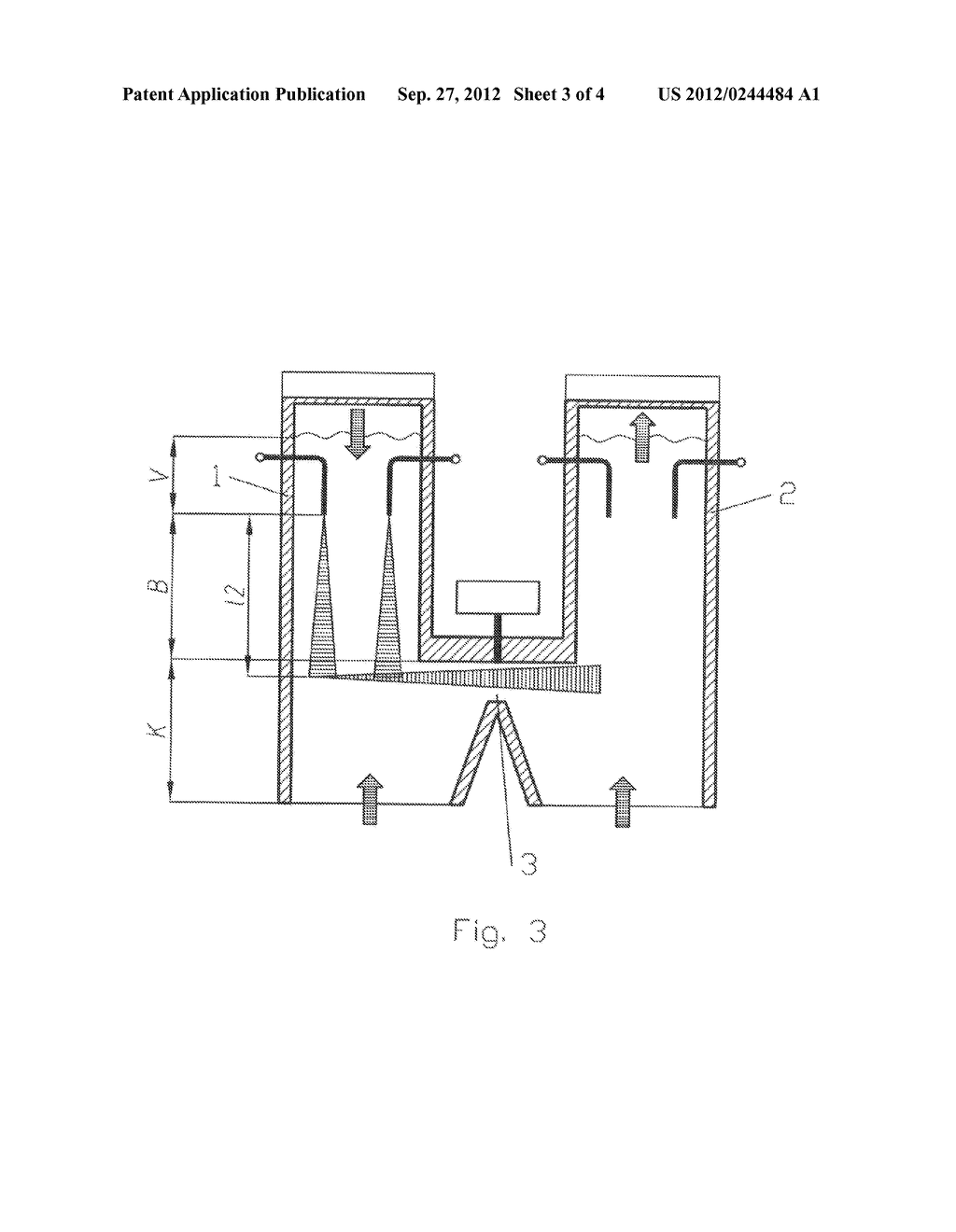 PARALLEL FLOW REGENERATIVE LIME KILN AND METHOD FOR THE OPERATION THEREOF - diagram, schematic, and image 04