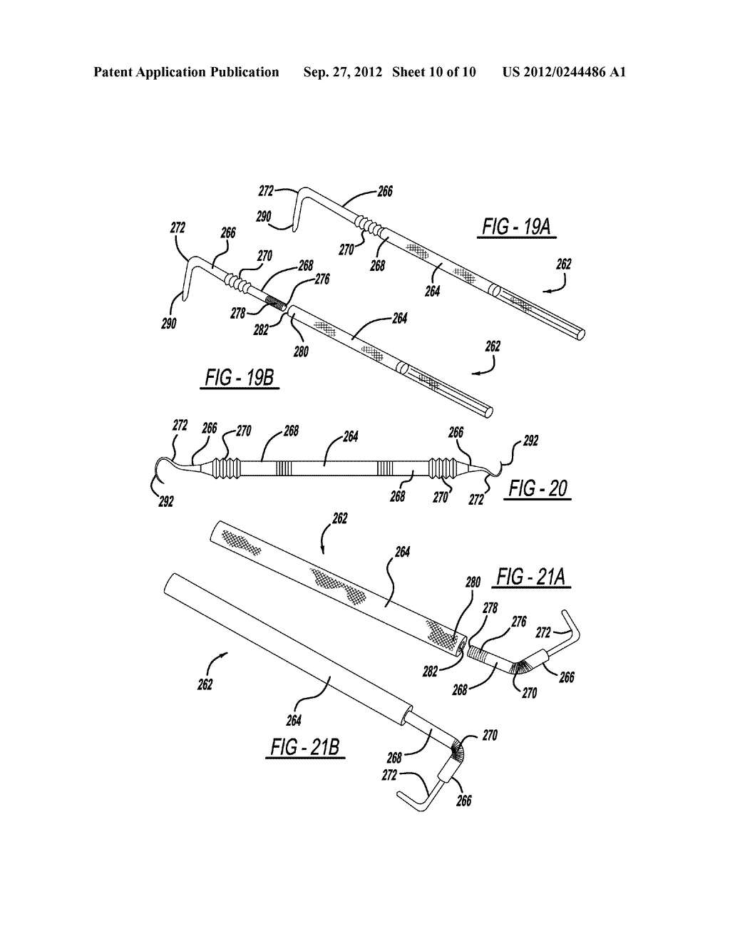Dental Tool with Adjustable Head - diagram, schematic, and image 11
