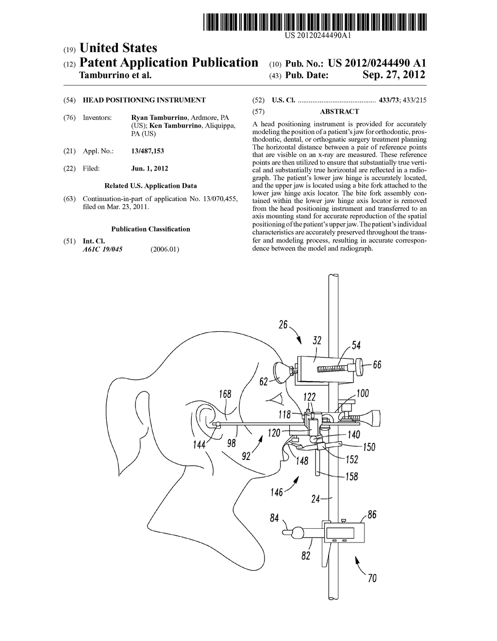 Head Positioning Instrument - diagram, schematic, and image 01