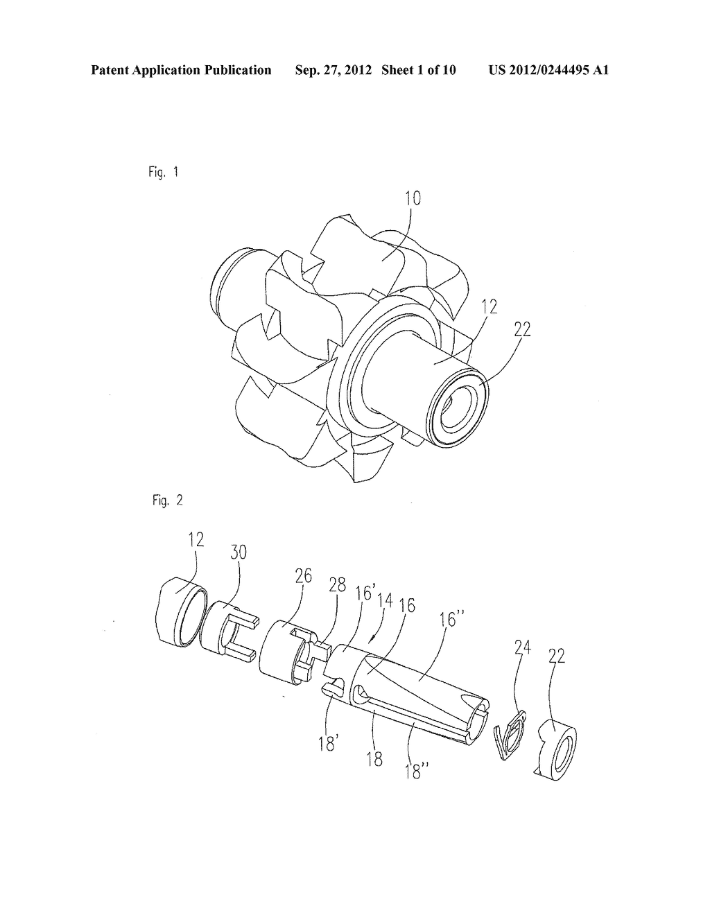 Clamping Device For A Dental Tool in A Dental Turbine Handpiece - diagram, schematic, and image 02