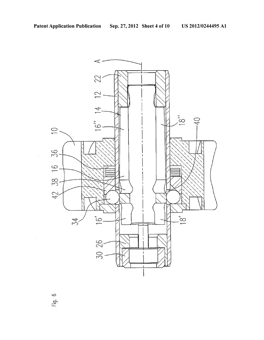 Clamping Device For A Dental Tool in A Dental Turbine Handpiece - diagram, schematic, and image 05