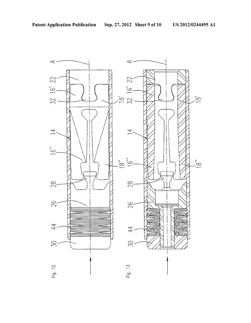 Clamping Device For A Dental Tool in A Dental Turbine Handpiece - diagram, schematic, and image 10