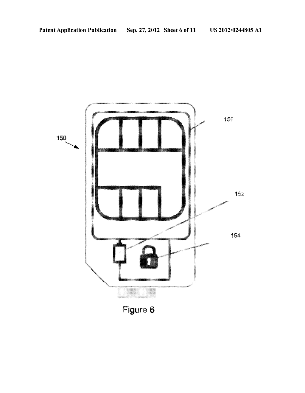 METHOD AND APPARATUS FOR BATTERY WITH SECURE ELEMENT - diagram, schematic, and image 07