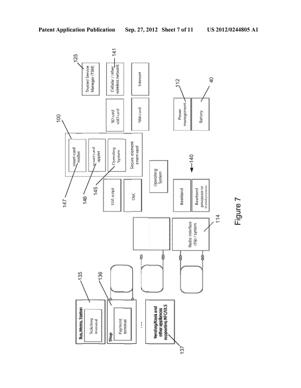 METHOD AND APPARATUS FOR BATTERY WITH SECURE ELEMENT - diagram, schematic, and image 08