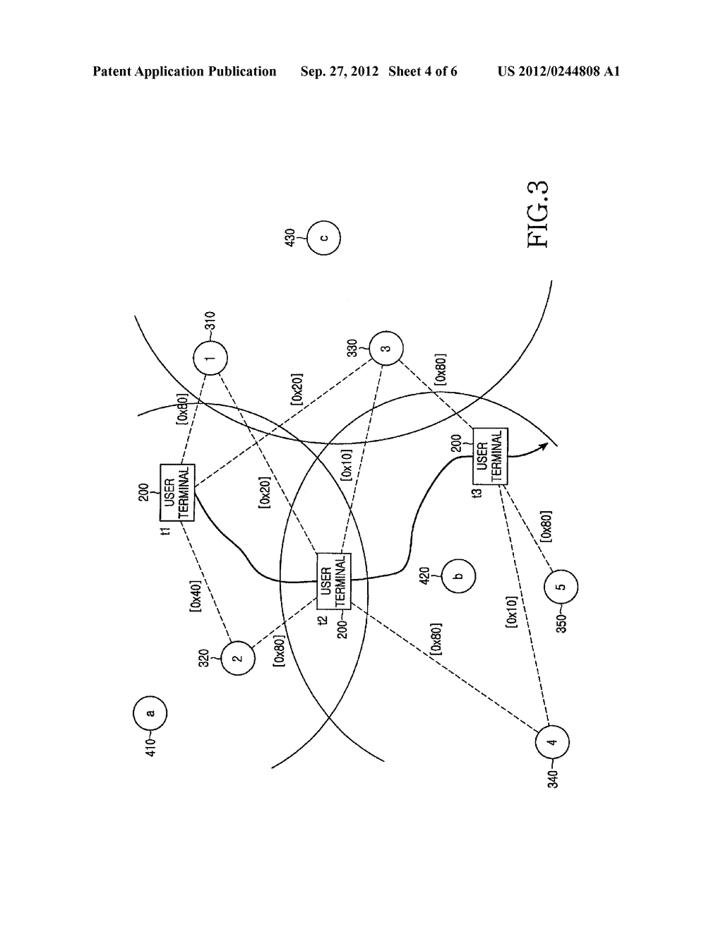 METHOD AND APPARATUS FOR CONNECTING TO NETWORK IN A SHORT-RANGE MOBILE     COMMUNICATION TERMINAL - diagram, schematic, and image 05