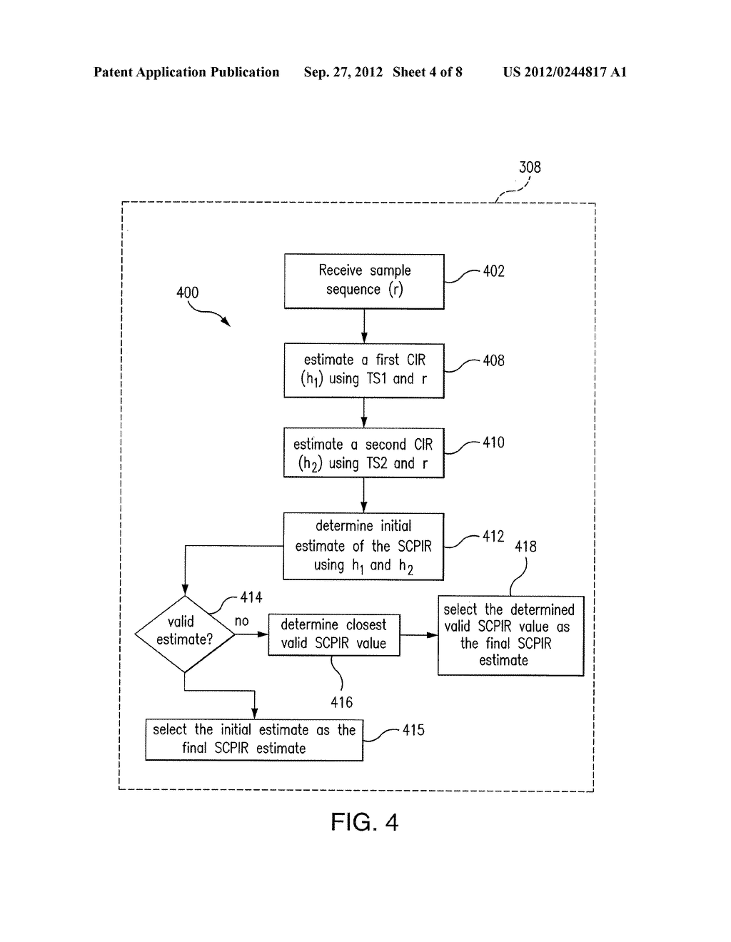 Apparatus and Methods For Estimation of a Subchannel Power Imbalance Ratio     (SCPIR) - diagram, schematic, and image 05