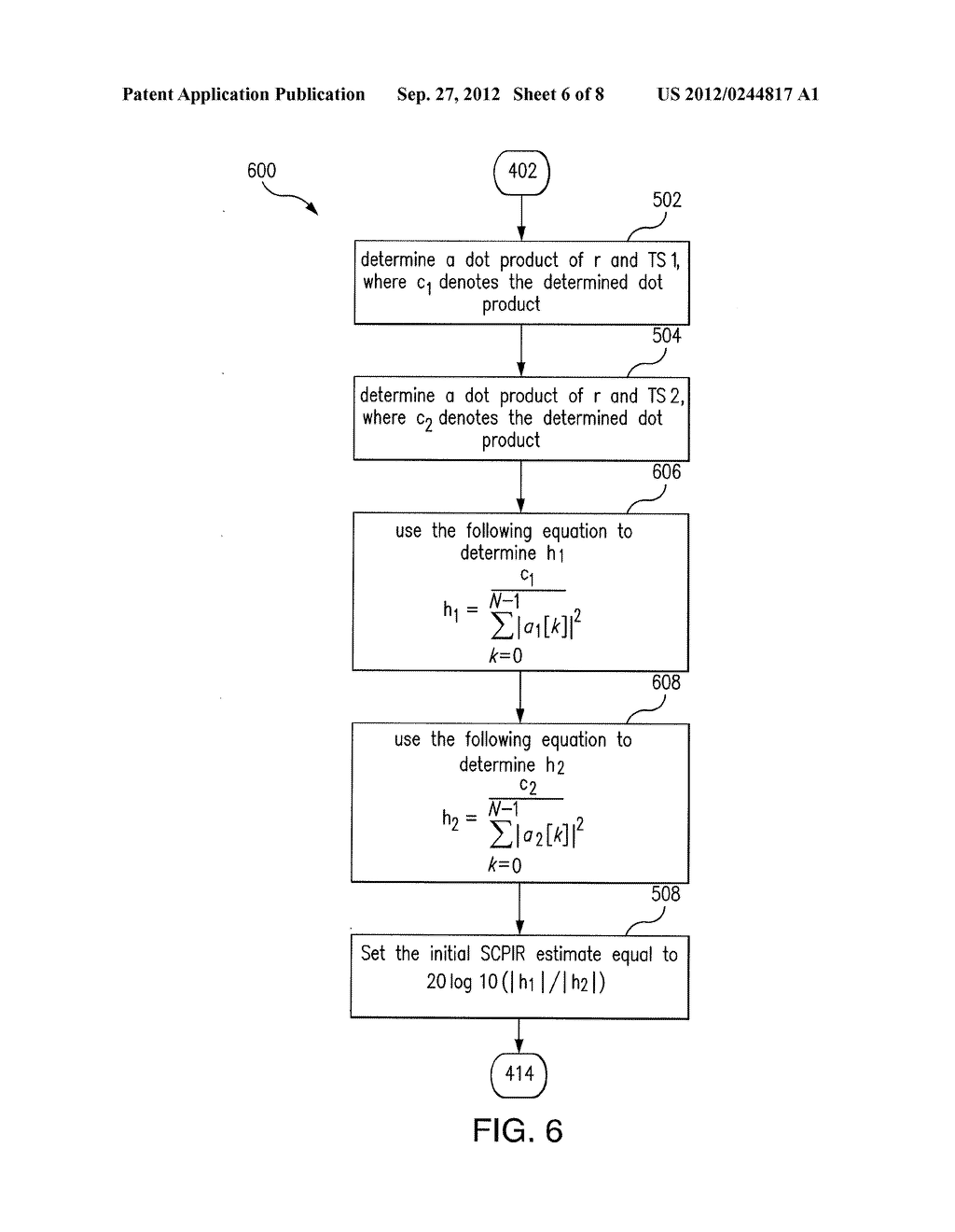 Apparatus and Methods For Estimation of a Subchannel Power Imbalance Ratio     (SCPIR) - diagram, schematic, and image 07