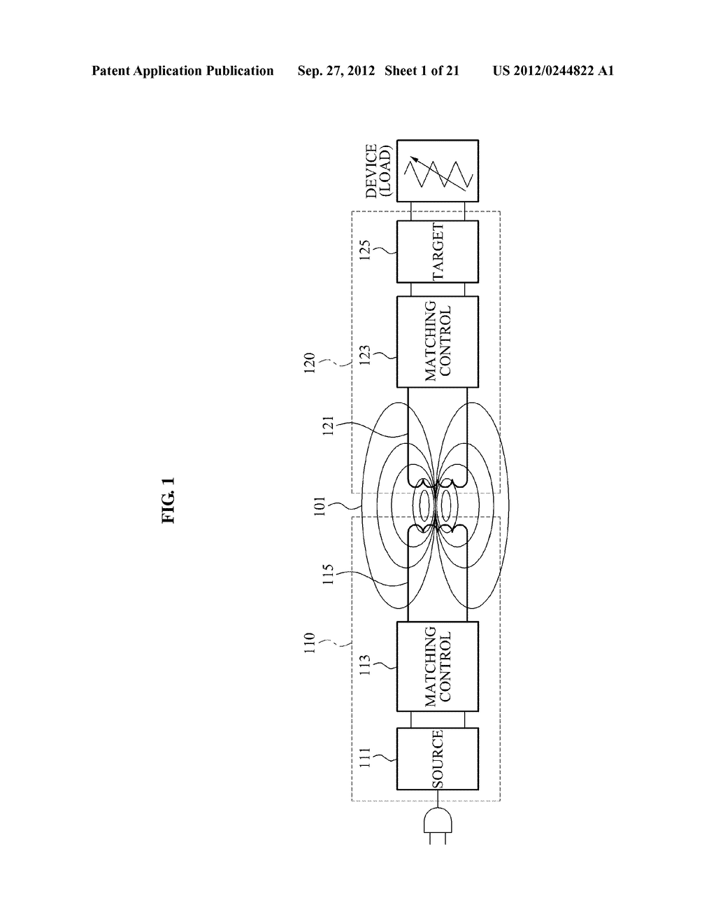 WIRELESS POWER TRANSMISSION SYSTEM, AND METHOD FOR CONTROLLING WIRELESS     POWER TRANSMISSION AND WIRELESS POWER RECEPTION - diagram, schematic, and image 02