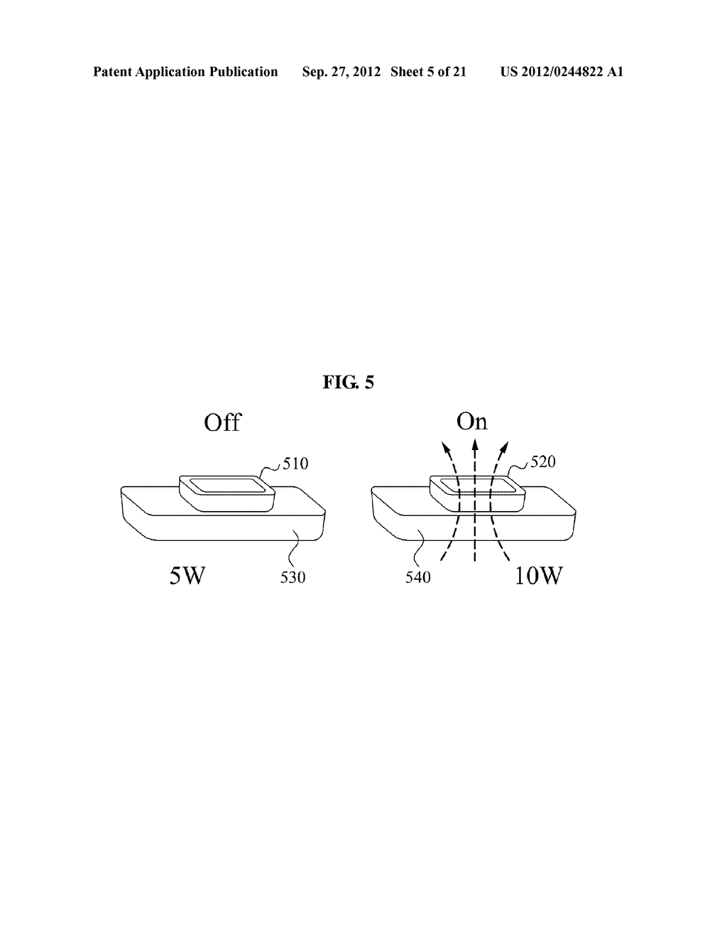 WIRELESS POWER TRANSMISSION SYSTEM, AND METHOD FOR CONTROLLING WIRELESS     POWER TRANSMISSION AND WIRELESS POWER RECEPTION - diagram, schematic, and image 06