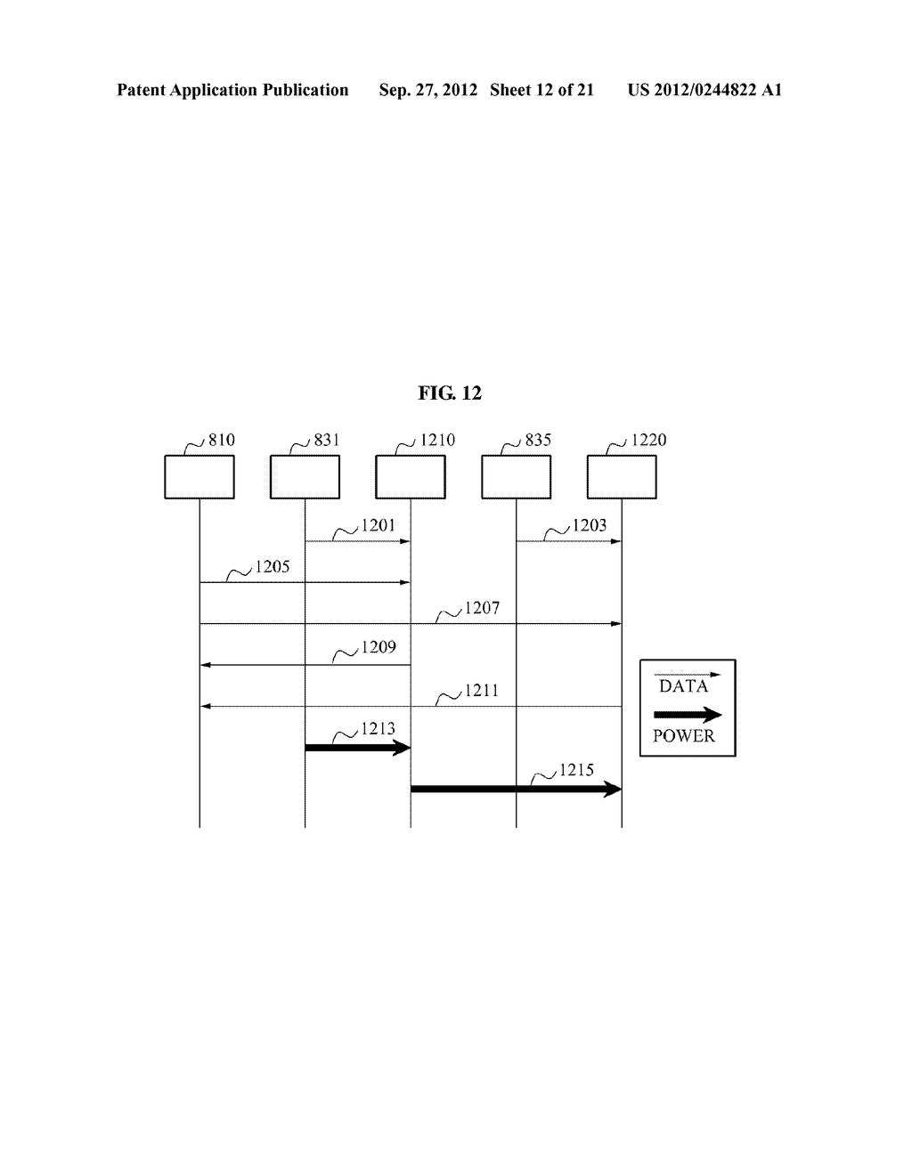 WIRELESS POWER TRANSMISSION SYSTEM, AND METHOD FOR CONTROLLING WIRELESS     POWER TRANSMISSION AND WIRELESS POWER RECEPTION - diagram, schematic, and image 13