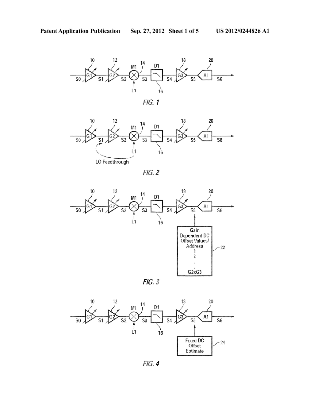 Method and Apparatus for Efficient DC Calibration in a Direct-Conversion     System with Variable DC Gain - diagram, schematic, and image 02