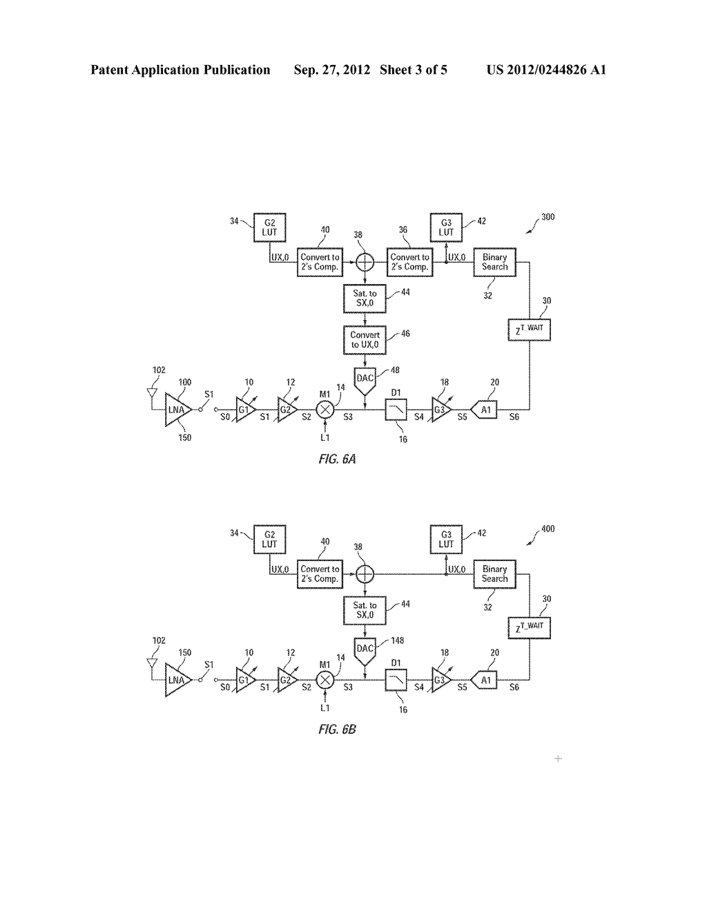 Method and Apparatus for Efficient DC Calibration in a Direct-Conversion     System with Variable DC Gain - diagram, schematic, and image 04