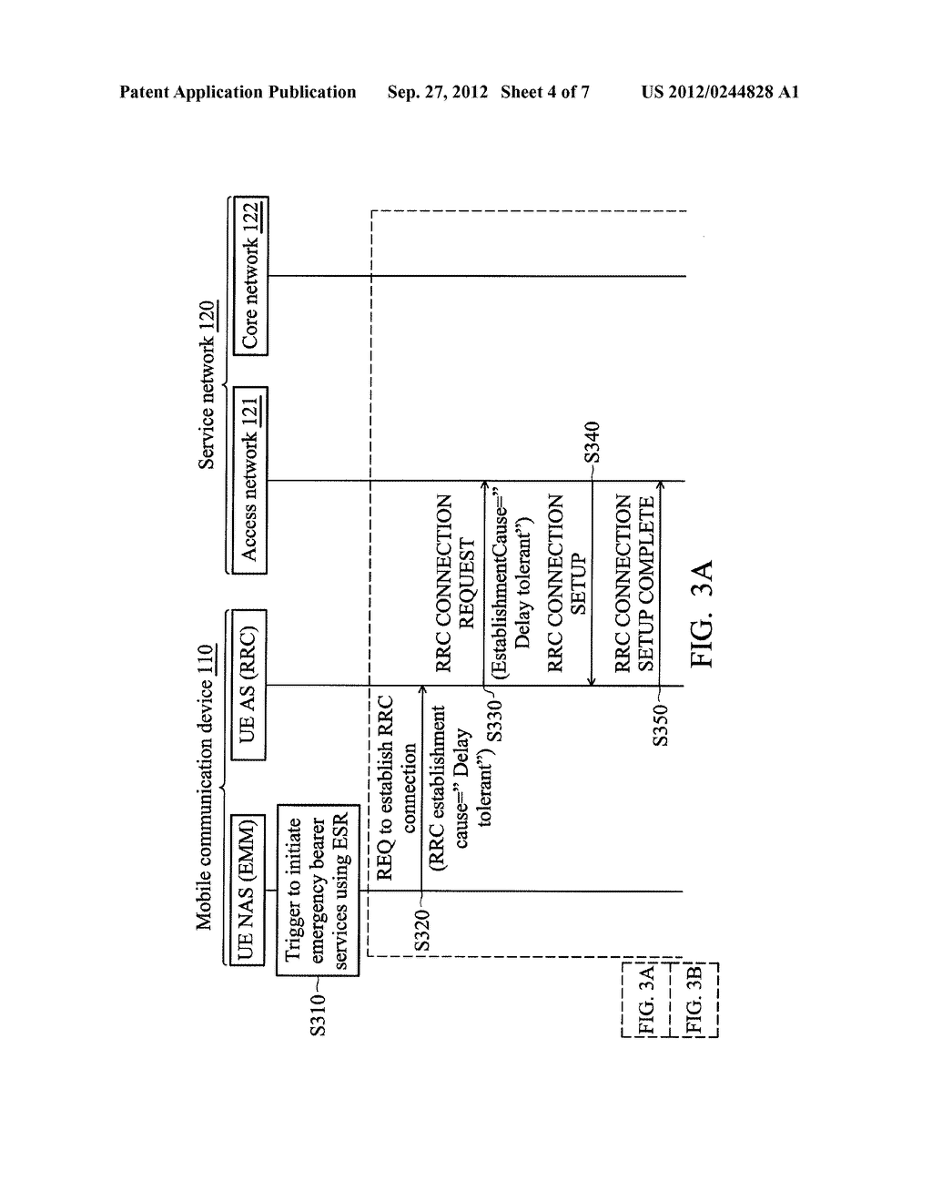 METHODS FOR REQUESTING EMERGENCY BEARER SERVICES FOR LOW PRIORITY DEVICES,     AND APPARATUSES USING THE SAME - diagram, schematic, and image 05