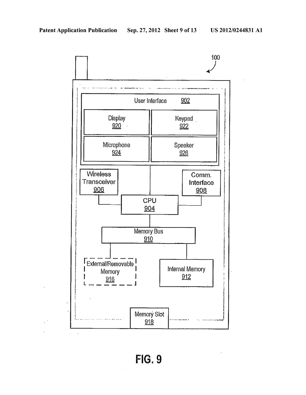 Devices and Methods for Creating a Snippet From a Media File - diagram, schematic, and image 10