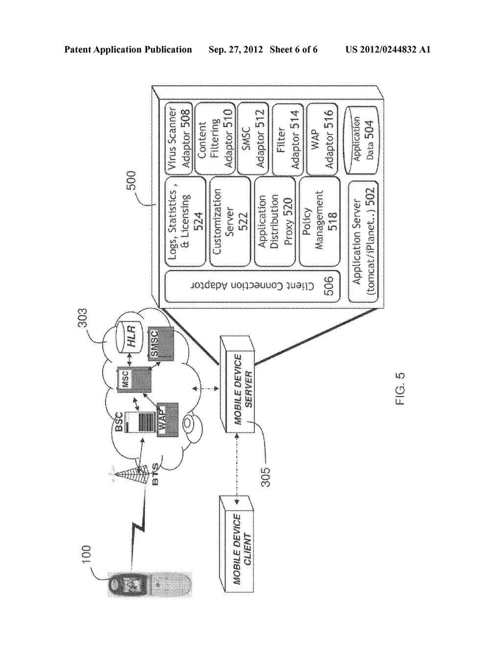 CONTROLLING, FILTERING, AND MONITORING OF MOBILE DEVICE ACCESS TO THE     INTERNET, DATA, VOICE, AND APPLICATIONS - diagram, schematic, and image 07