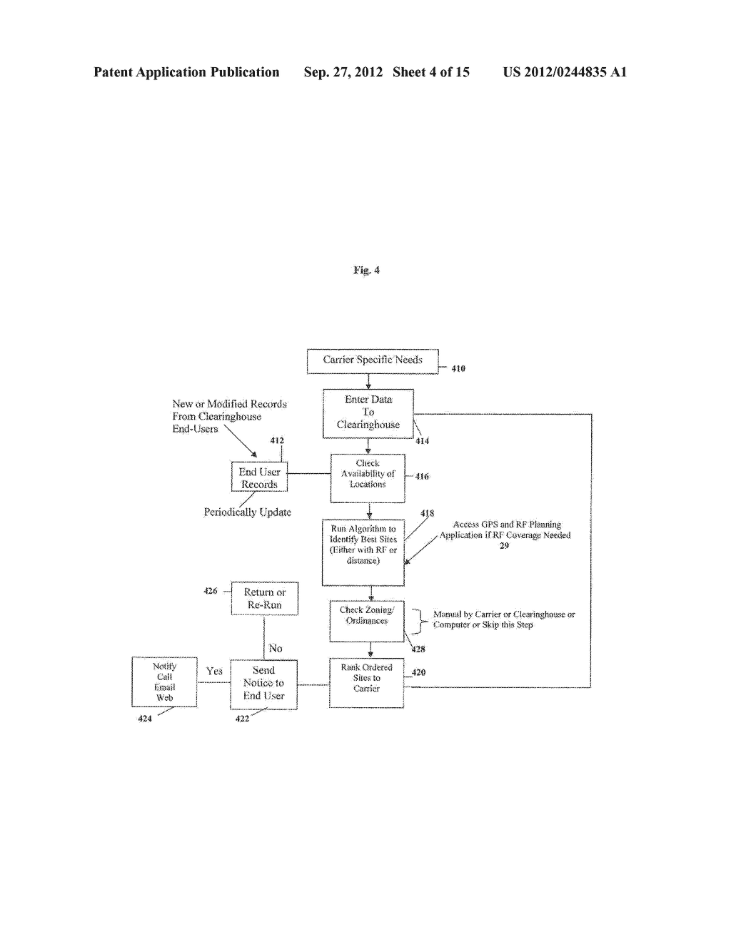Clearinghouse System, Method, and Process for Inventorying and Acquiring     Infrastructure, Monitoring and Controlling Network Performance for     Enhancement, and Providing Localized Content in Communication Networks - diagram, schematic, and image 05