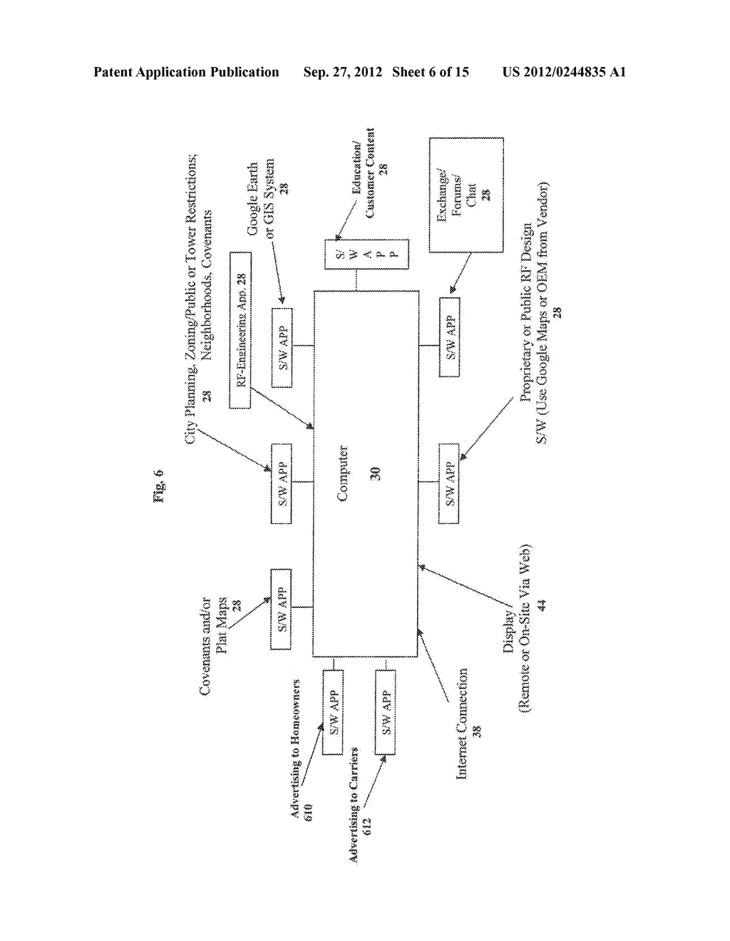 Clearinghouse System, Method, and Process for Inventorying and Acquiring     Infrastructure, Monitoring and Controlling Network Performance for     Enhancement, and Providing Localized Content in Communication Networks - diagram, schematic, and image 07