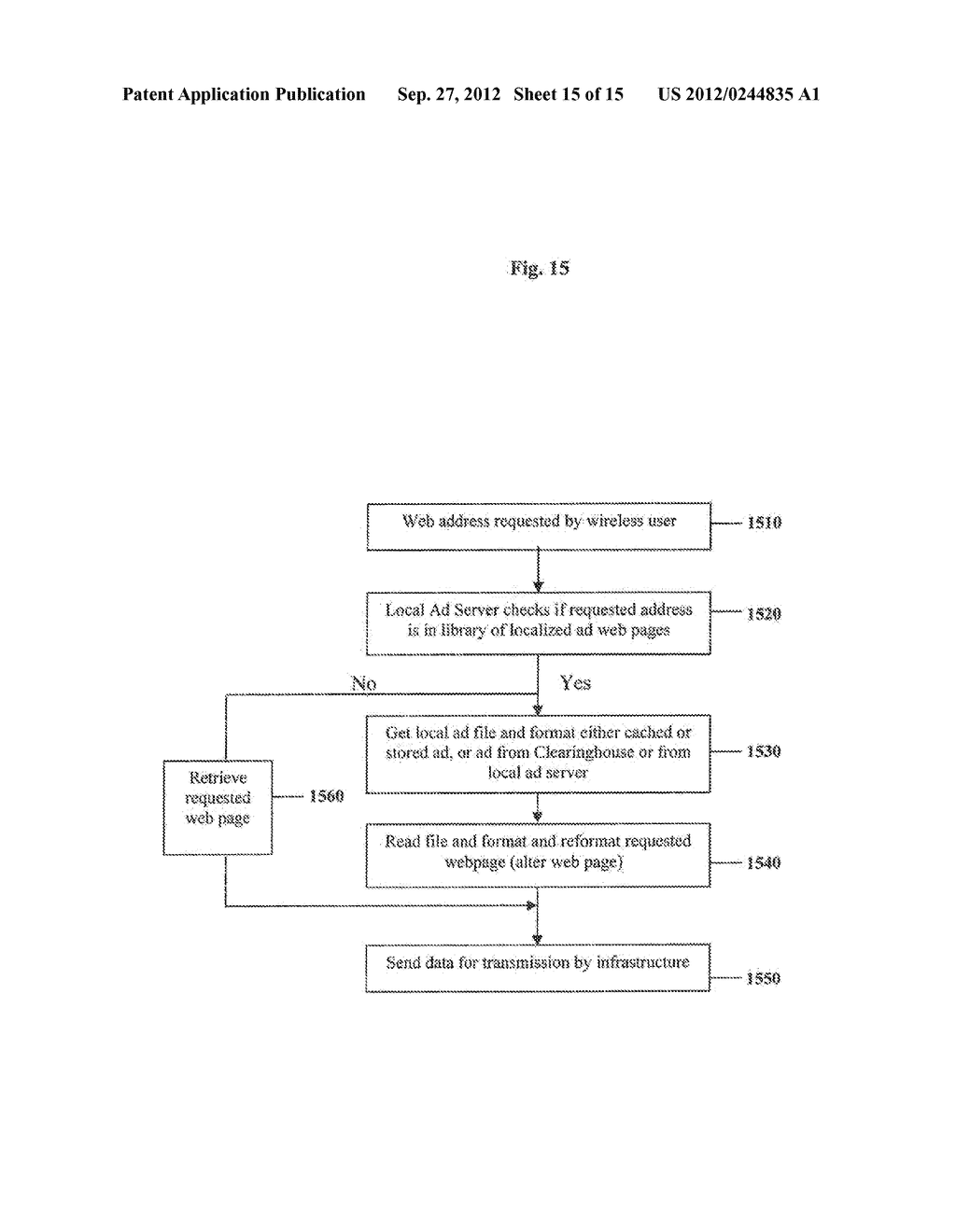Clearinghouse System, Method, and Process for Inventorying and Acquiring     Infrastructure, Monitoring and Controlling Network Performance for     Enhancement, and Providing Localized Content in Communication Networks - diagram, schematic, and image 16