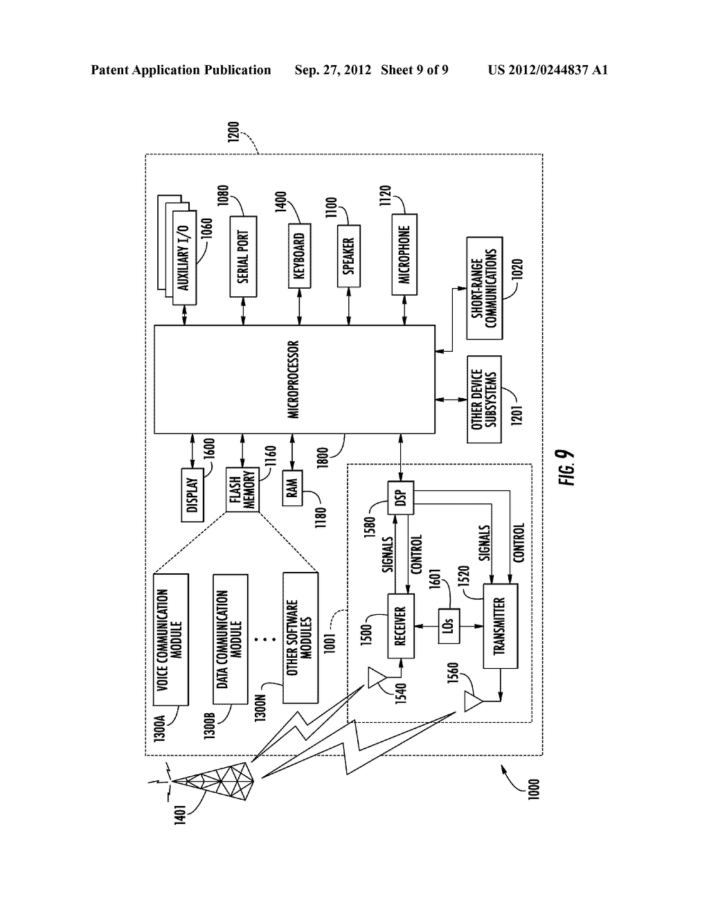 COMMUNICATIONS SYSTEM INCLUDING PERSONAL INFORMATION TOKEN TO STORE A     PERSONALIZED LIST AND ASSOCIATED METHODS - diagram, schematic, and image 10