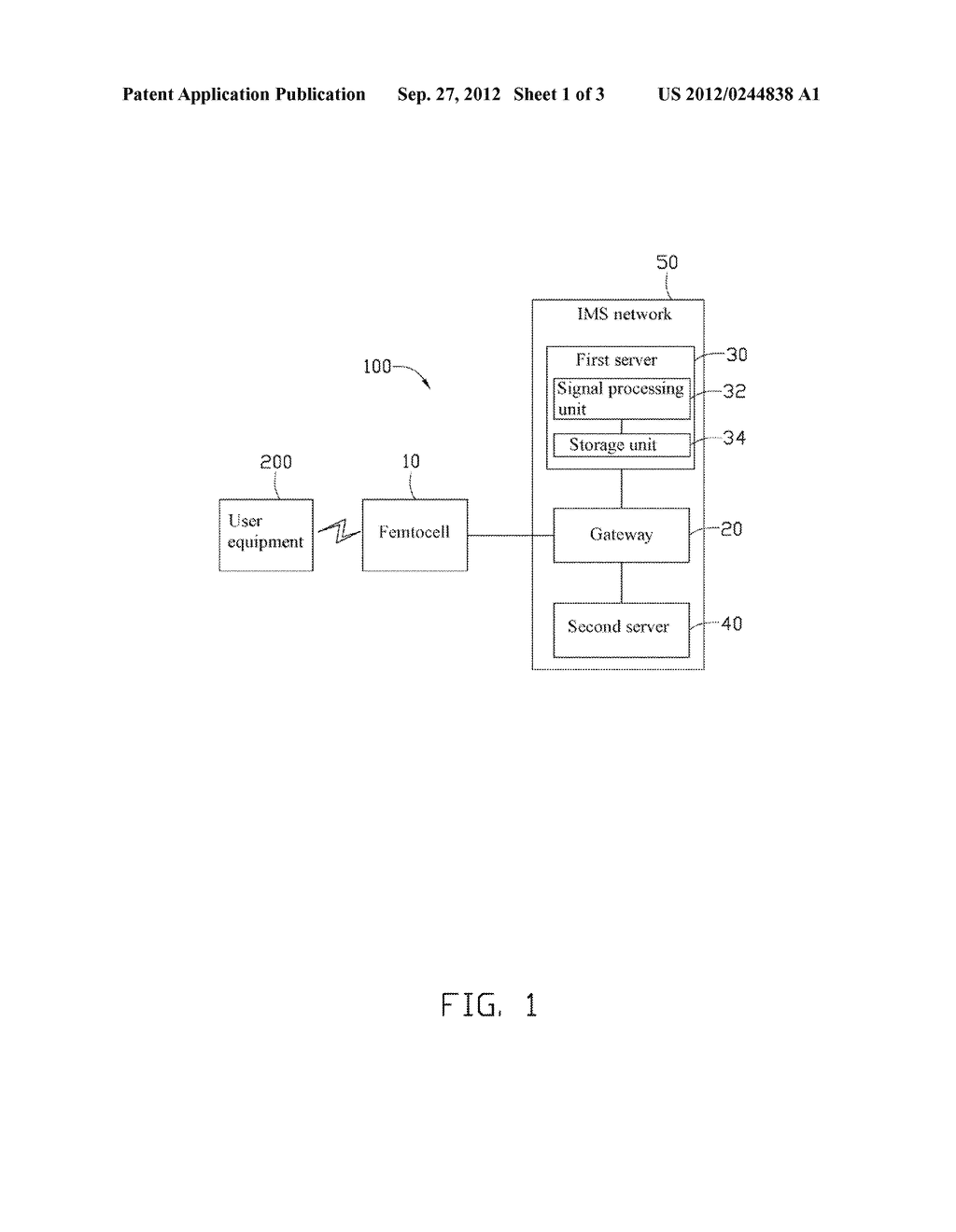 FEMTOCELL AUTHENTICATION SYSTEM AND AUTHENTICATION METHOD EMPLOYING THE     SAME - diagram, schematic, and image 02