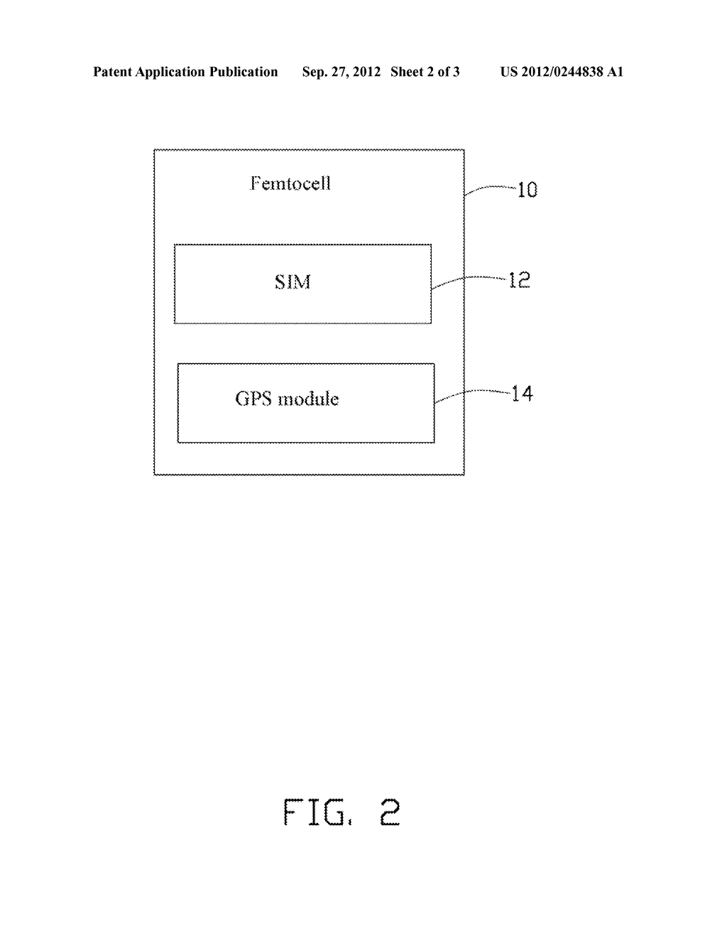 FEMTOCELL AUTHENTICATION SYSTEM AND AUTHENTICATION METHOD EMPLOYING THE     SAME - diagram, schematic, and image 03