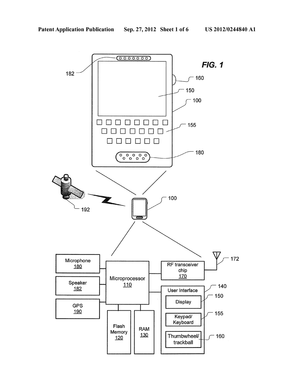 MOTION-BASED DISABLING OF MESSAGING ON A WIRELESS COMMUNICATIONS DEVICE - diagram, schematic, and image 02