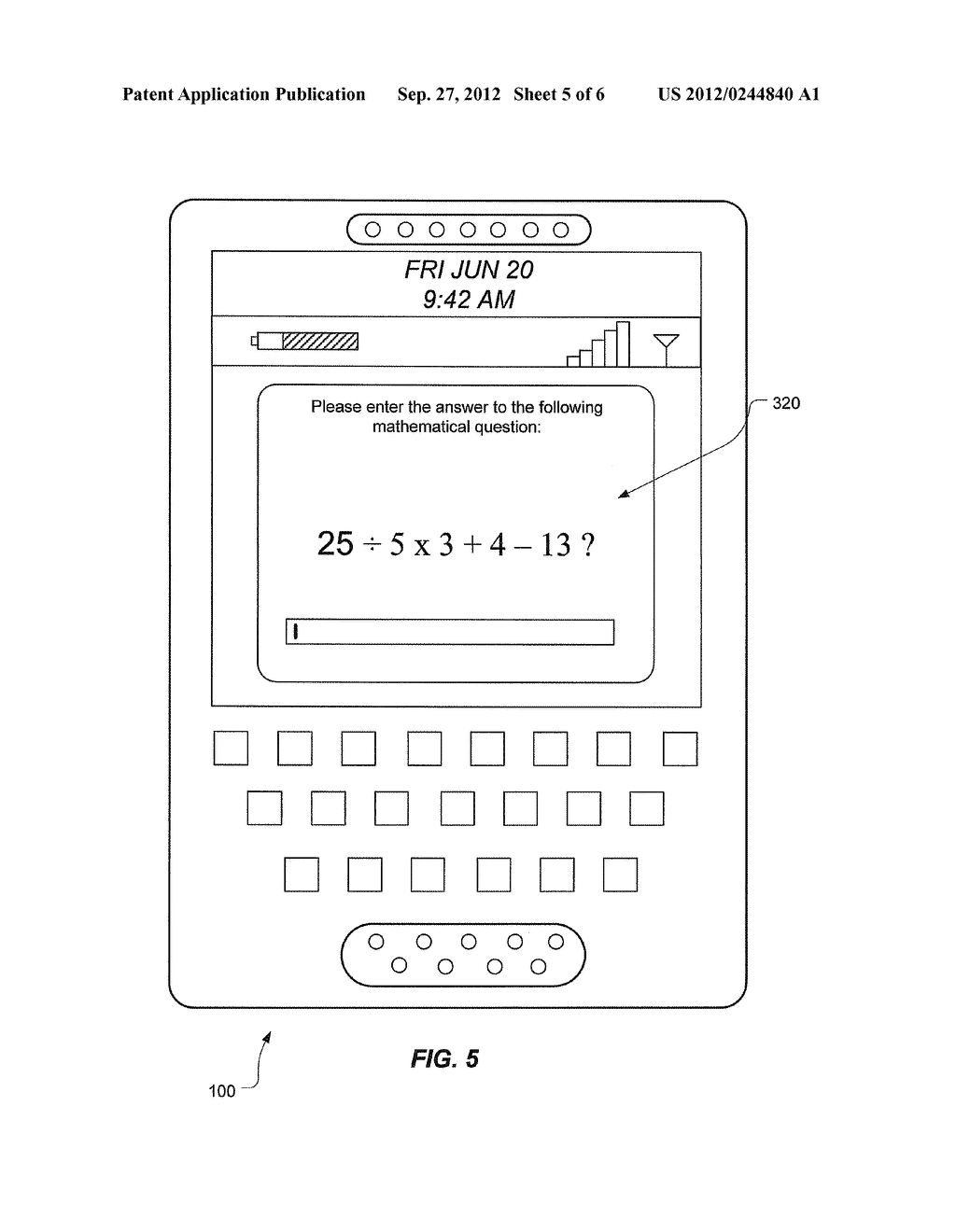 MOTION-BASED DISABLING OF MESSAGING ON A WIRELESS COMMUNICATIONS DEVICE - diagram, schematic, and image 06
