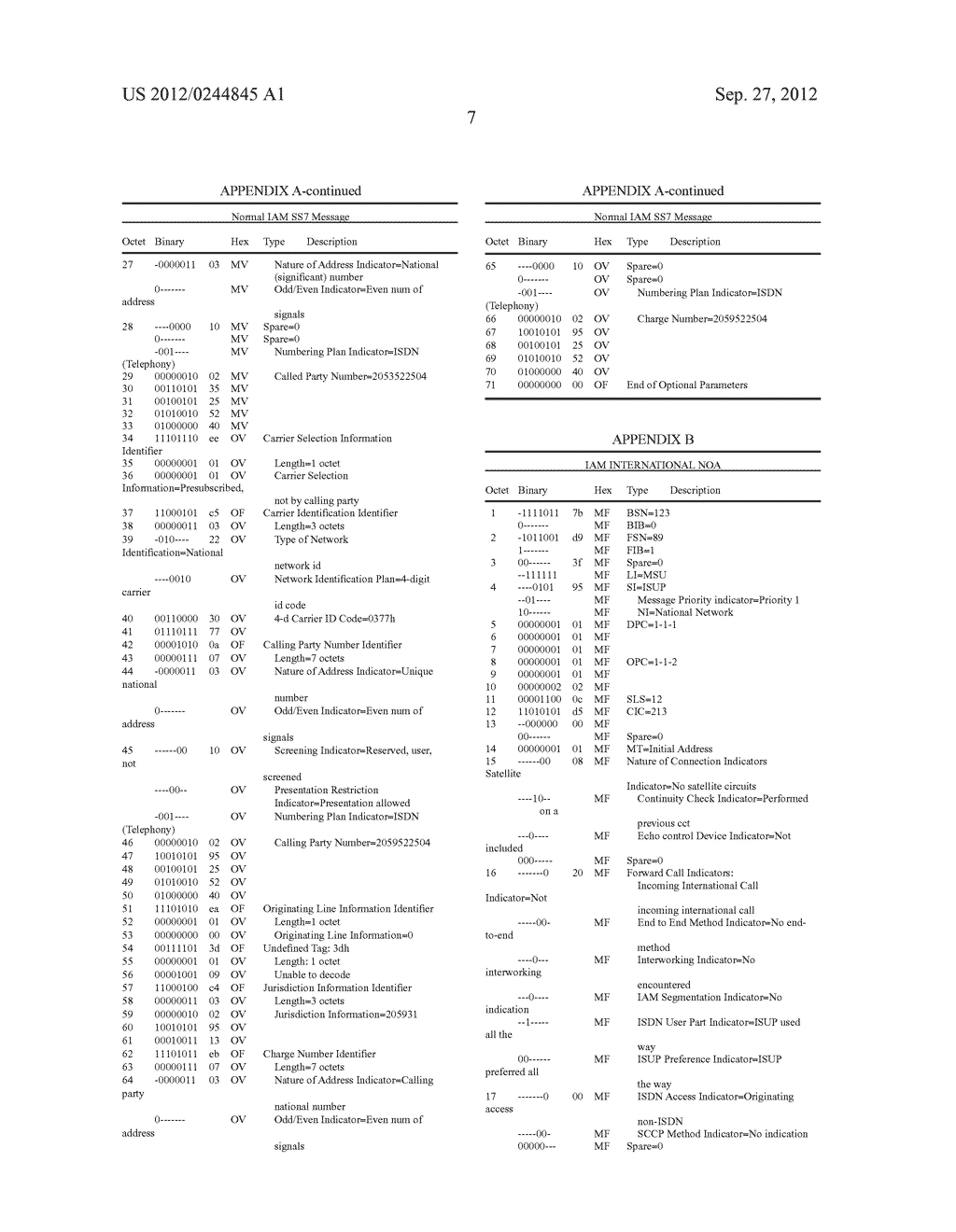 Methods, Systems, and Computer Program Products for Processing a Nature of     Address Indicator and/or Calling Party Number to Support     Telecommunication Features - diagram, schematic, and image 11