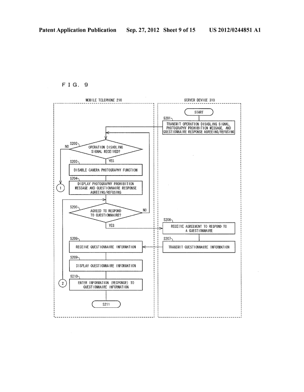 INFORMATION MANAGEMENT SYSTEM, MOBILE TERMINAL DEVICE, SERVER DEVICE,     INFORMATION MANAGEMENT METHOD, CONTROL PROGRAM AND COMPUTER-READABLE     RECORDING MEDIUM ON WHICH SAME HAS BEEN RECORDED - diagram, schematic, and image 10