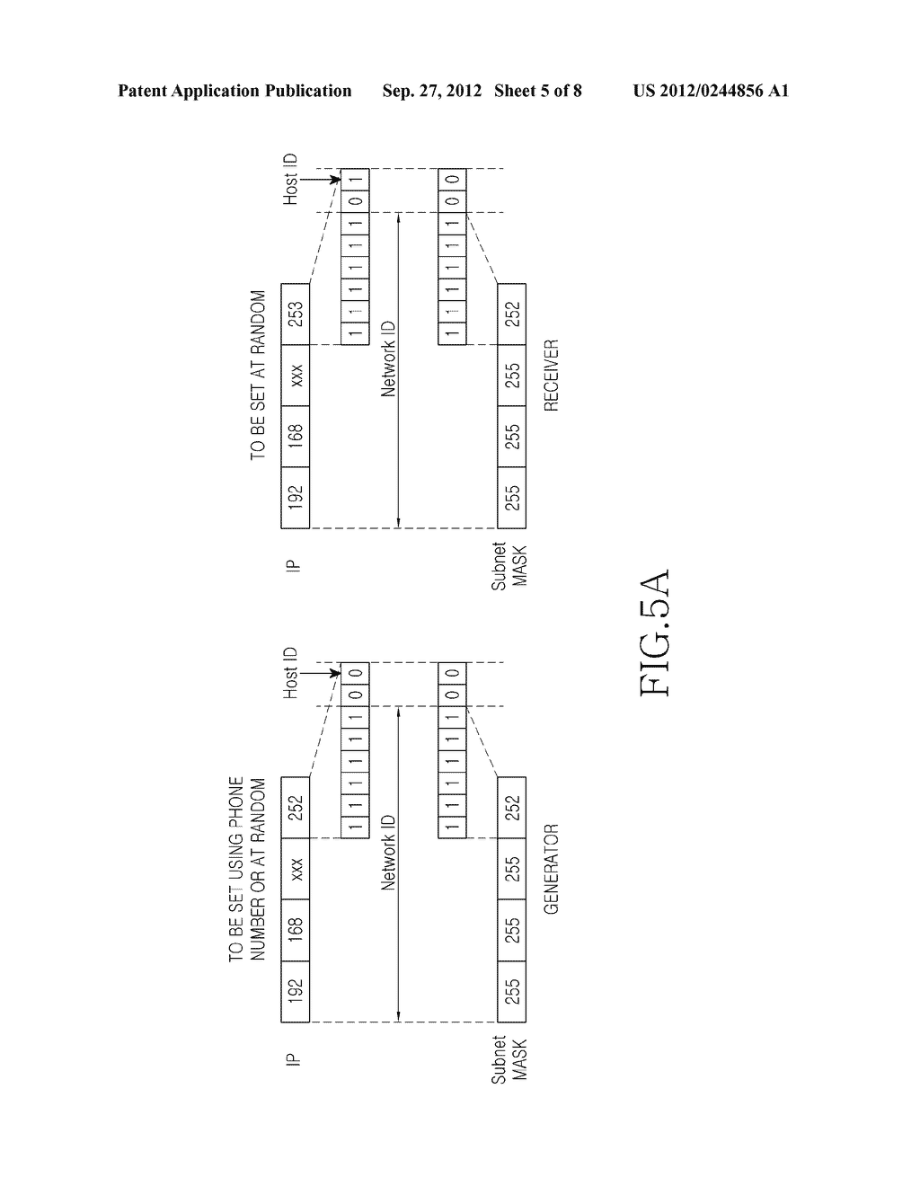 METHOD AND APPARATUS FOR SETTING UP NETWORK FOR IP COMMUNICATION IN MOBILE     TERMINAL - diagram, schematic, and image 06