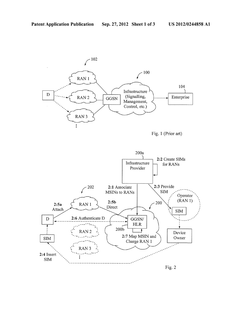 Method and Arrangement for Connectivity in a Communication Network - diagram, schematic, and image 02