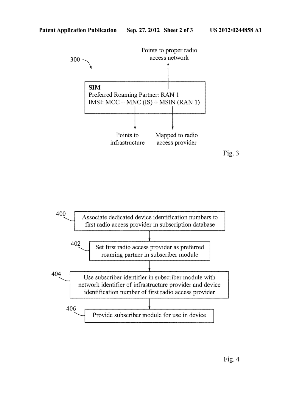Method and Arrangement for Connectivity in a Communication Network - diagram, schematic, and image 03