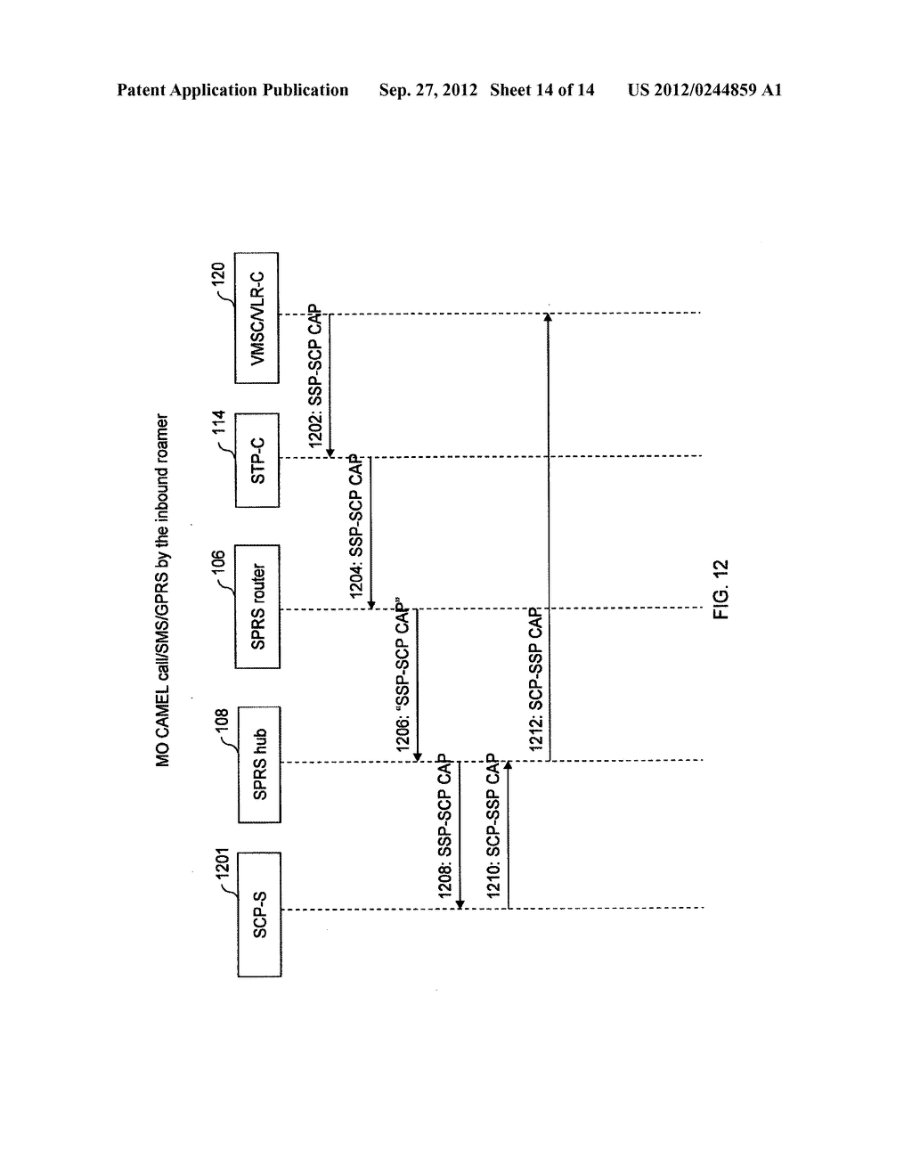 METHOD AND SYSTEM FOR PROVIDING PIGGYBACK ROAMING FOR SPONSORING SPLIT     ROAMING RELATIONSHIPS - diagram, schematic, and image 15