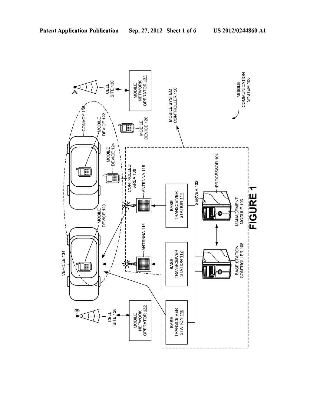SELECTIVE CONTROL OF A WIRELESS SERVICE ASSOCIATED WITH A MOBILE DEVICE - diagram, schematic, and image 02