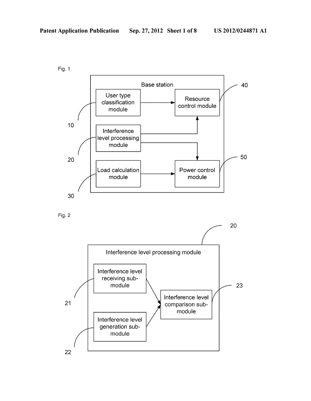 Base station for implementing inter-cell interference coordination and     method for inter-cell interference coordination - diagram, schematic, and image 02