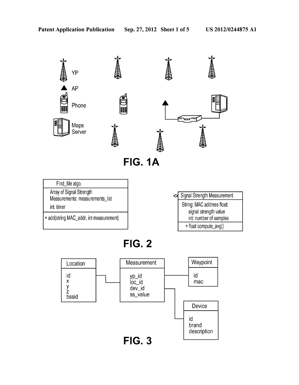 SYSTEM AND METHOD FOR DETERMINING LOCATION OF A WI-FI DEVICE WITH THE     ASSISTANCE OF FIXED RECEIVERS - diagram, schematic, and image 02